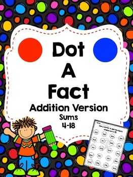 Dot a Fact-Addition