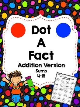 Dot a Fact-Addition