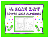 Dot-It Bingo Dauber Lower Case Alphabet Letter No Prep Wor