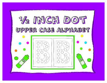 Dot-It Bingo Dauber Upper Case Alphabet Letter No Prep Worksheets ~  All Letters