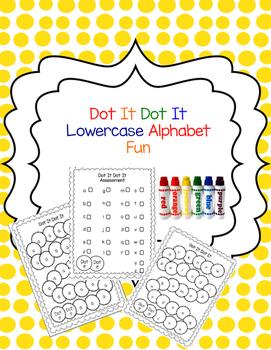 Dot It Dot It Lowercase Alphabet Fun
