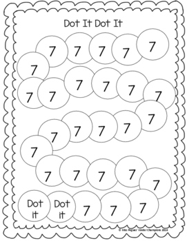 Dot It Dot It Numbers 0-20