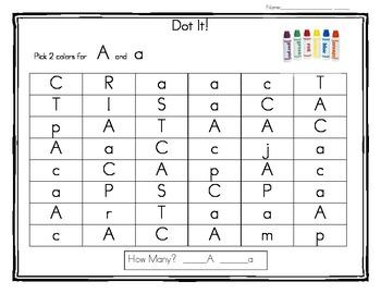 Dot It Letters