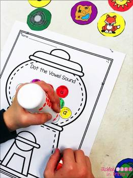 Dot It! BINGO Marker Literacy Games