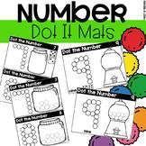 Dot It Number Mats - Fine Motor Fun!
