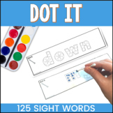 Dot It Sight Word Fine Motor Skills Activities