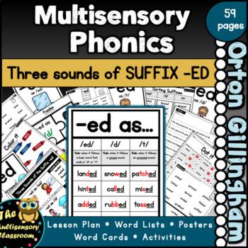 Dot It! Suffix -ed (/ed/, /t/, /d/) Long/Short Vowel Words