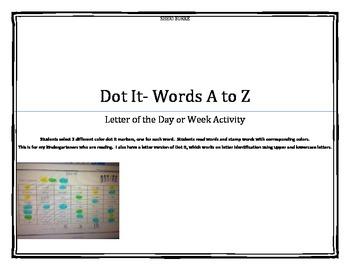 Dot It Words