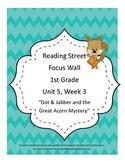 Dot & Jabber Focus Wall Posters 1st Grade Reading Street CC 2013