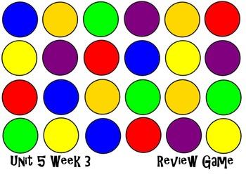 Dot & Jabber Unit 5 Week 3. Smart Board Review Game. Reading Street.