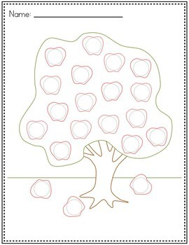 Dot Marker Activities | FRUIT Dot Marker Pages for Do a Dot Markers