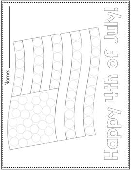 Dot Marker Activities | Holiday & Celebration Do A Dot Printables