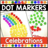 Dot Marker Activities Holiday & Celebration Do A Dot Printables
