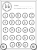 Dot Marker Alphabet Letter Find [BLACK/WHITE]