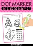 Dot Marker Alphabet   Bingo Dabber Alphabet