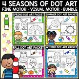 Dot Marker Art Pages - 4 Seasons Sets - Fine Motor PK-K, SPED, OT