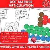 Articulation Dot Marker Open-Ended Activity
