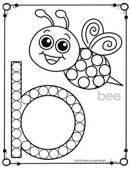 Dot Marker / Do-A-Dot Lowercase Alphabet Worksheets