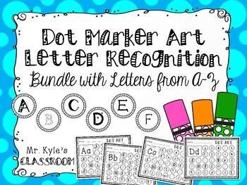 Dot Marker Letter Recognition