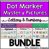 Letters & Numbers Bundle Dot Marker Activities