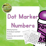 Dot Marker Number Recognition and Review