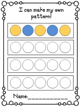 Dot Marker Patterns