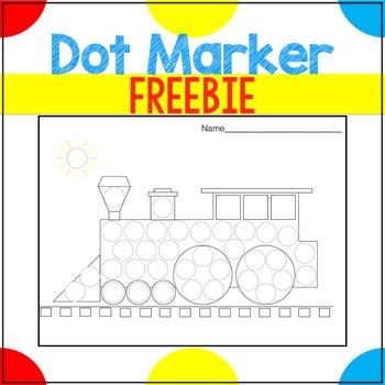 Dot Marker Printable Freebie