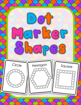 Dot Marker Shapes