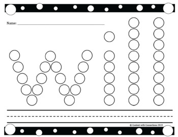 Dot Marker Sight Words: 40+ High Frequency Words to Stamp