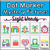 Sight Words Dot Marker Mystery Picture Activities