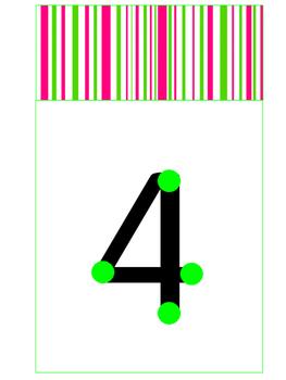 Dot Number Line