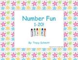Dot Number Practice 1-20