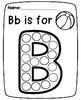 Dot Paint Alphabet {Capital Letters}