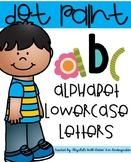 Dot Paint Alphabet {Lowercase Letters}