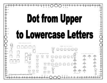 Dot Paint from Upper to Lowercase Letters