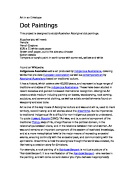Dot Paintings