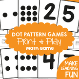 Subitizing Cards Pack - Dot Pattern Games