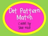 Dot Pattern Match - Flash Card - Work Station - Common Core Math