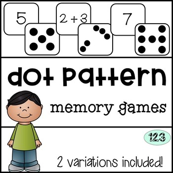 Subitizing Dot Pattern Memory Games