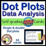 Dot Plot BOOM Cards Digital Math
