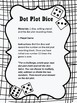 Dot Plot Dice Data Collection Sheet (graphing data)