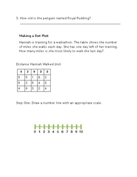Dot Plot Guided Notes