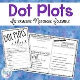 Dot Plot Interactive Notebook Foldable