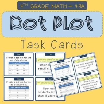 Dot Plot Task Cards
