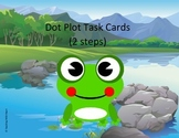 Dot Plot Task Cards - Scoot Activity - Multiple Steps