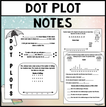 Dot Plot notes