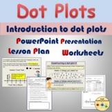 Dot Plots Line Plots Worksheets Presentation Frequency Tab