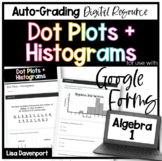 Dot Plots and Histograms- for use with Google Forms
