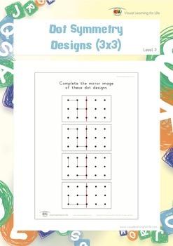 Dot Symmetry Designs (3x3)