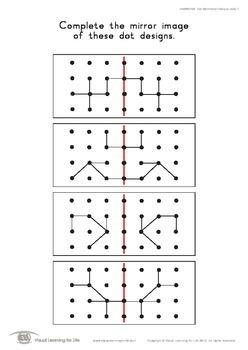 Dot Symmetry Designs (4x4)